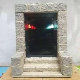 Infinity Mirror - Lampu Hias - Lampu Meja - Pyramid Gate Corridor