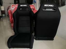 JOK RACING RECARO SR3 HITAM POLOS RACINGSEAT