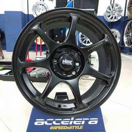 Veleg Import Racing HSR WHEEL Ring 16 Pcd 4x100 & 4x114,3 Agya Cayla