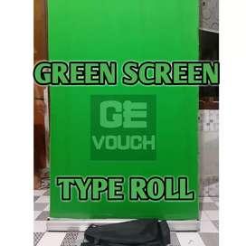 BackDrop GREEN SCREEN Type ROLL.. Uk 85cm x 200cm