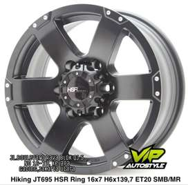 Pelek Mobil Murah HIKING HSR Ring 16x7 H6x139,7