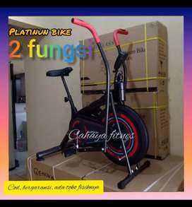 sepeda olah raga platinum bike alat fitnes sepeda statis promo
