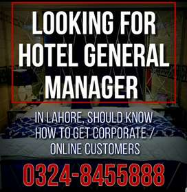 HOTEL GENERAL MANAGER(LOOKING FOR)