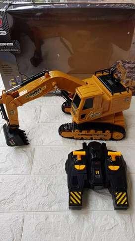 Mainan Excavator remot control
