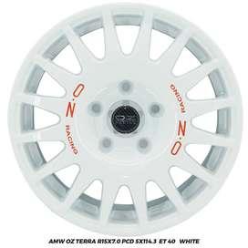 Velg Innova Luxio Ertiga APV OZ Terra R15x7 hole 5X114.3 ET 40