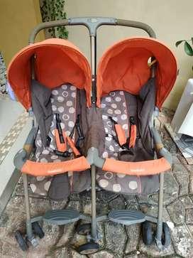 Stroller Bayi Kembar GOODBABY