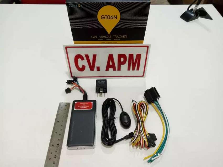 GPS TRACKER gt06n, amankan mobil rental/taxi online+server 0