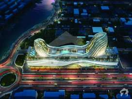 Gulberg mall Ground floor shops available in Gulberg Greens Islamabad
