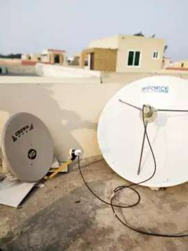 Dish Antenna For sports channels