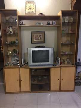 Large TV Rack Shelf, suitable for Lounge or Room