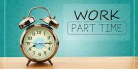 Qualified data entry operators needed for part time data entry work