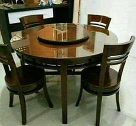meja makan sanggar jati