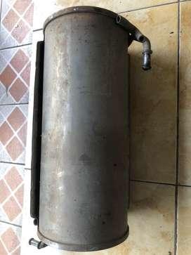 Tabung knalpot original suzuki splash