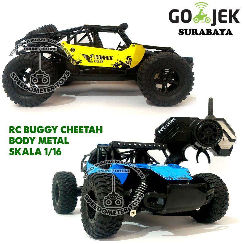 RC Mobil Offroad Buggy Cheetah 1/18 Frek 2.4G   Mainan Edukasi Anak 0