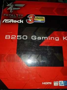 Asrock b250 gaming k4 +intel core i5 6400