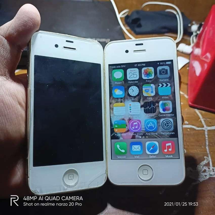 iPhone 4 16GB 2 unit minus (baca deskripsi) 0