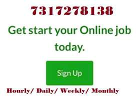 WORK FROM HOME COMPUTER TYPING JOB , WITHOUT TARGET WORK