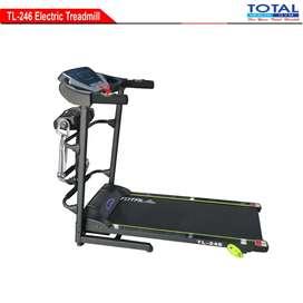 Ready treadmill elektrik TL 246 1,5hp manual incline terbaru