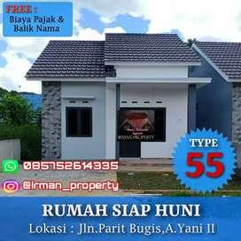 Rumah Siap Huni Type 50 Berkualitas