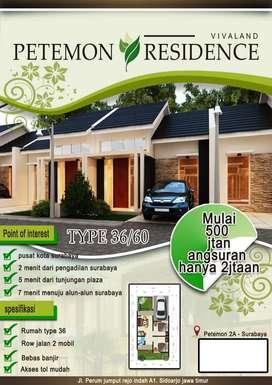 Rumah Baru Petemon Murah lokasi strategis