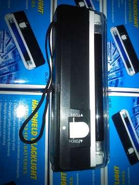 Lampu Detector Uang Palsu With Senter DL-01 Praktis Serbaguna