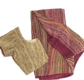 Almost new sarees crepe