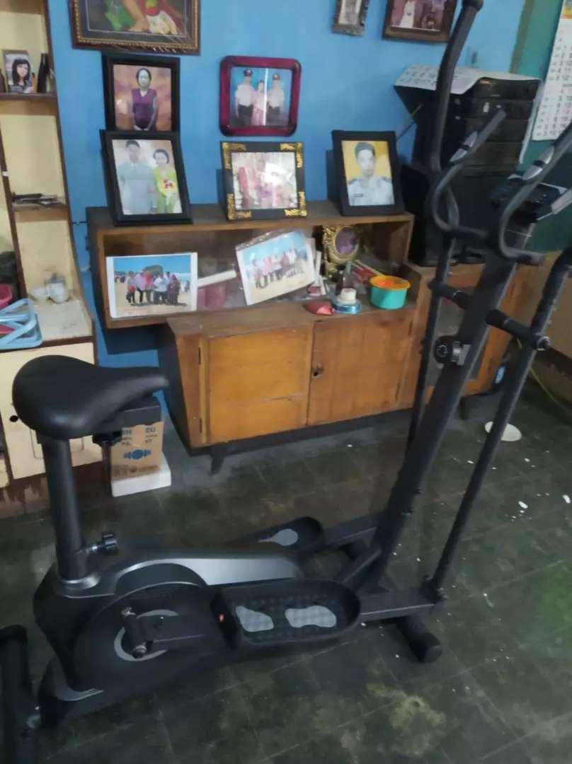 Sepeda aerobic eleptical bike 0