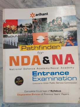 NDA & NA Entrance examination Book