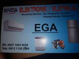 Servis ac kulkas pasang baru instalasi listrik ac baru