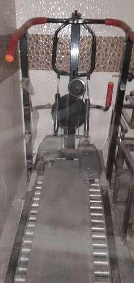 New condition manual treadmill
