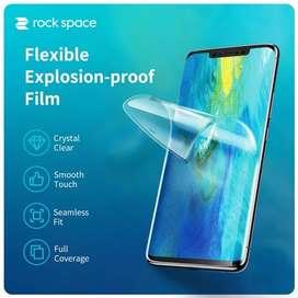 Anti Gores Hydrogel Rock Space Untuk Seluruh Tipe Handphone dan Jam