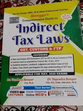 Indirect Tax Laws for CA, CMA, CS and other professional courses