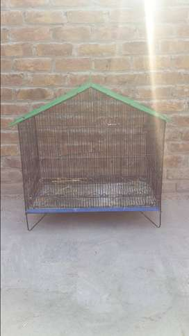 two iron cages