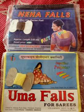 Uma sarre fall, Neha saaree fall , Ginny saaree fall