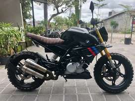 FOR SALE BMW G310R CUSTOMISED AND REPAINT BY TREASURE GARAGE