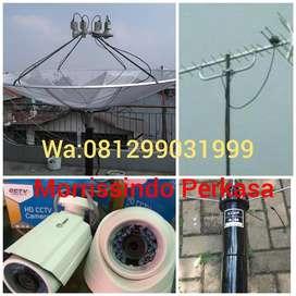 Melayani Penjualan Pemasangan Jasa Service Antena TV Cisalak Pasar
