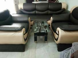 Free delivery :: sofa set with table brand new