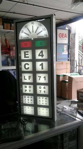 Snellen Test Chart Electric Murah