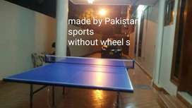 Table tennis with wheel