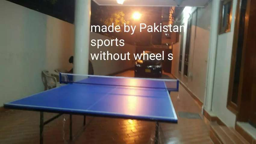 Table tennis with wheel 0