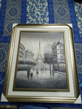 Eiffel Tower Canvas Painting