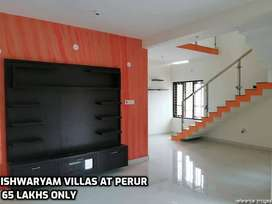 In perur- East facing Villas With Gym,Party hall,etc.