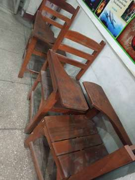 Pure Wooden chairs for Classroom use or Office use , Wood Chair