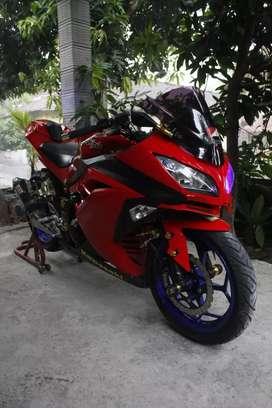 Ninja250 fi merah