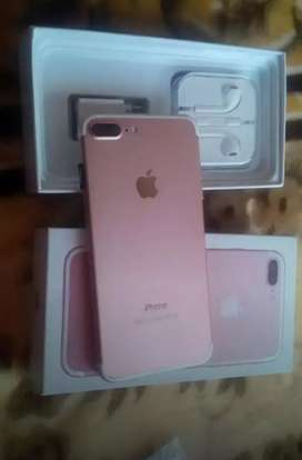 I phone 7 plus rose gold colour with refurbished