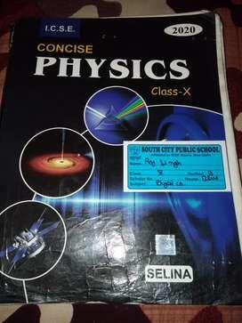 ICSE Class 10th Selina physics book 2020
