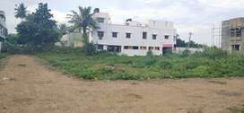 Approved individual plot for sale in Kovur