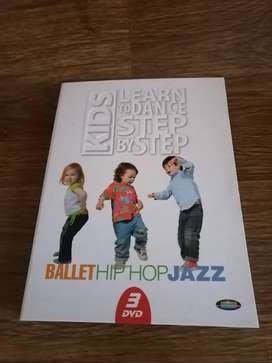 DVD Kids Learn to Dance Ballet Hiphop Jazz