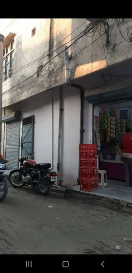 Shop and house for sale