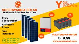 5KW Solar Energy system for Home Price.